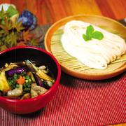 肉ナスつけ麺イメージ